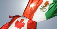 Mexican exports to Canada increase 24% in six months.